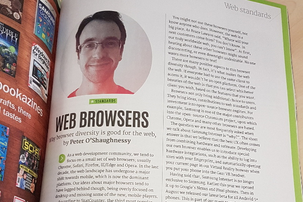 Net magazine article