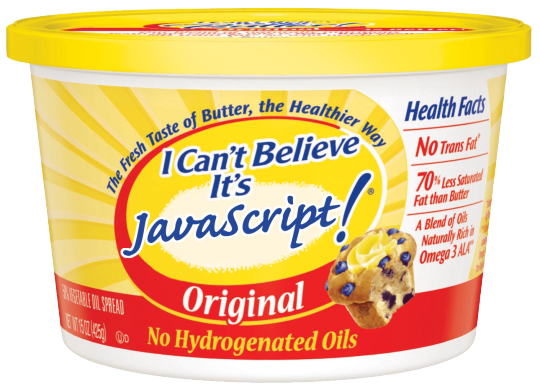 I Can't Believe It's JavaScript!
