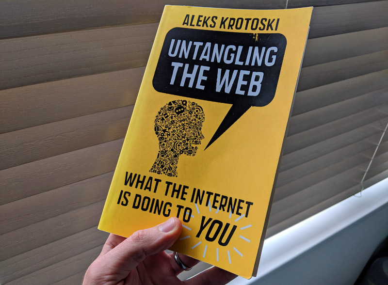 Untangling the Web book